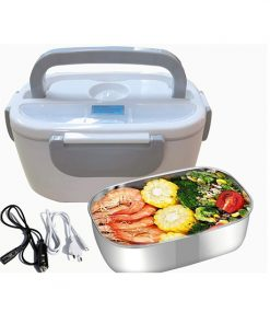 Lunch Box Chauffante Gris 3en1