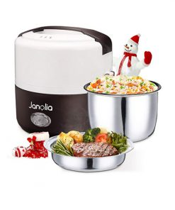 Lunch Box Chauffante Janolia Noir et Blanc