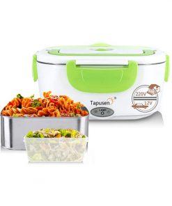 Lunch Box Chauffante Vert 2en1