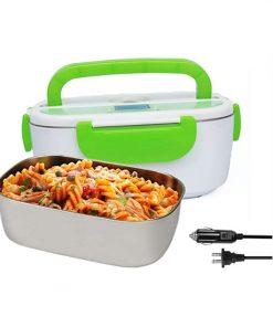Lunch Box Chauffante Vert 3en1